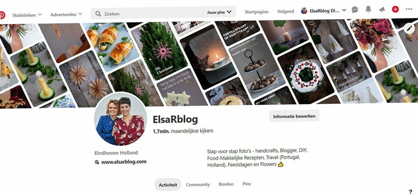 Pinterest Het jaaroverzicht 2019 van ElsaRblog