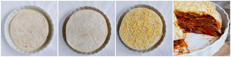 Tortilla taart of Party taart van Inge