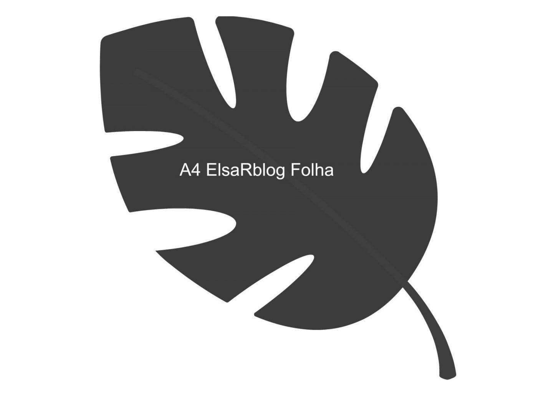gratis free A4 ElsaRblog Folha