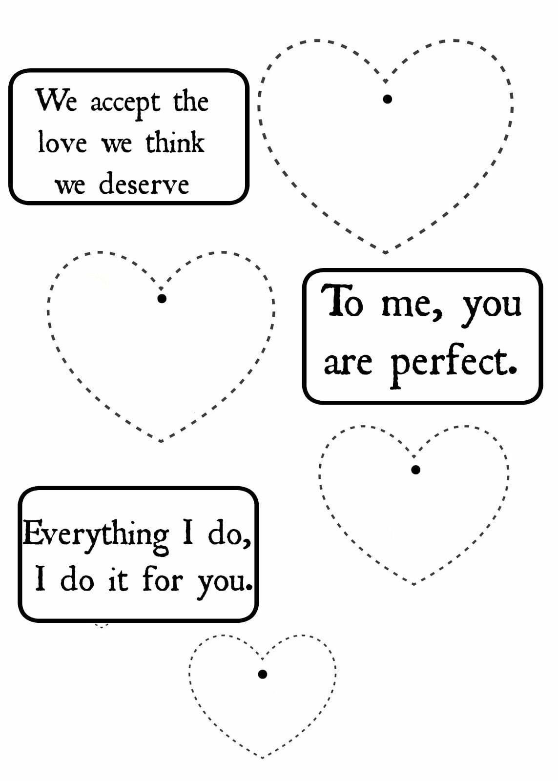 A4 ElsaRblog Valentijns briefjes