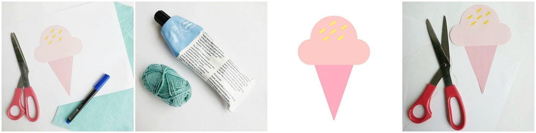 Babyshower ijs decoratie om zelf te maken – Diy