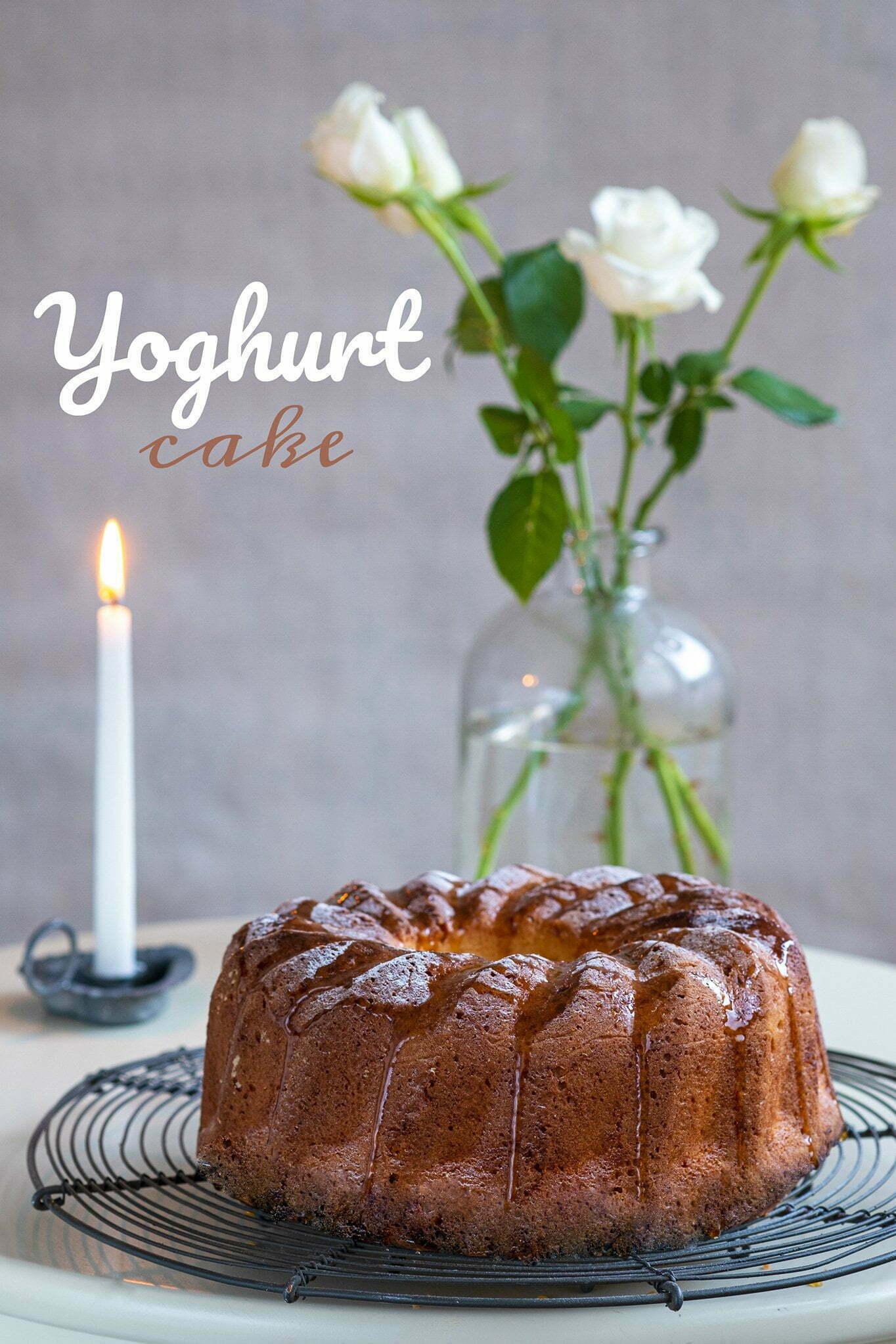 Yoghurt cake – Recept uit Portugal
