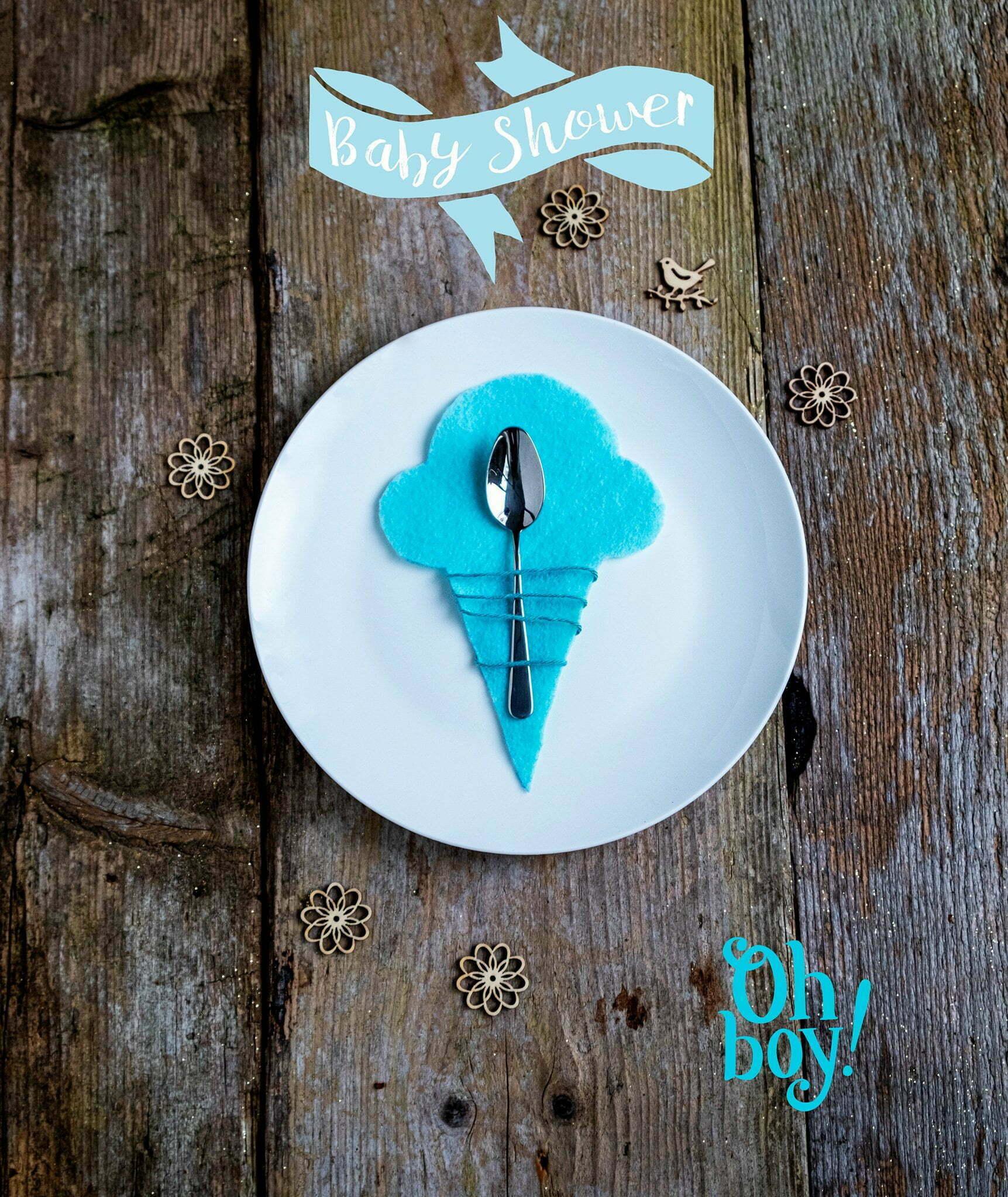 elsarblog oh boy Babyshower ijs decoratie om zelf te maken
