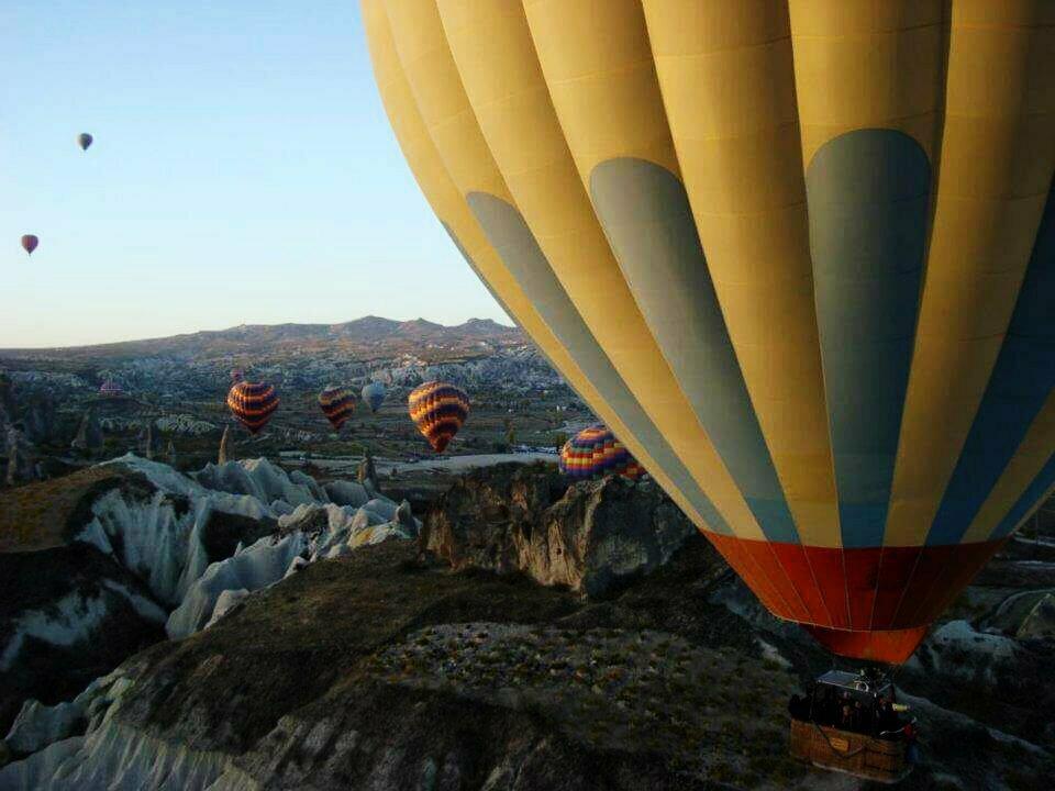 Frédérique van Srsck ballonvaart-Turkije