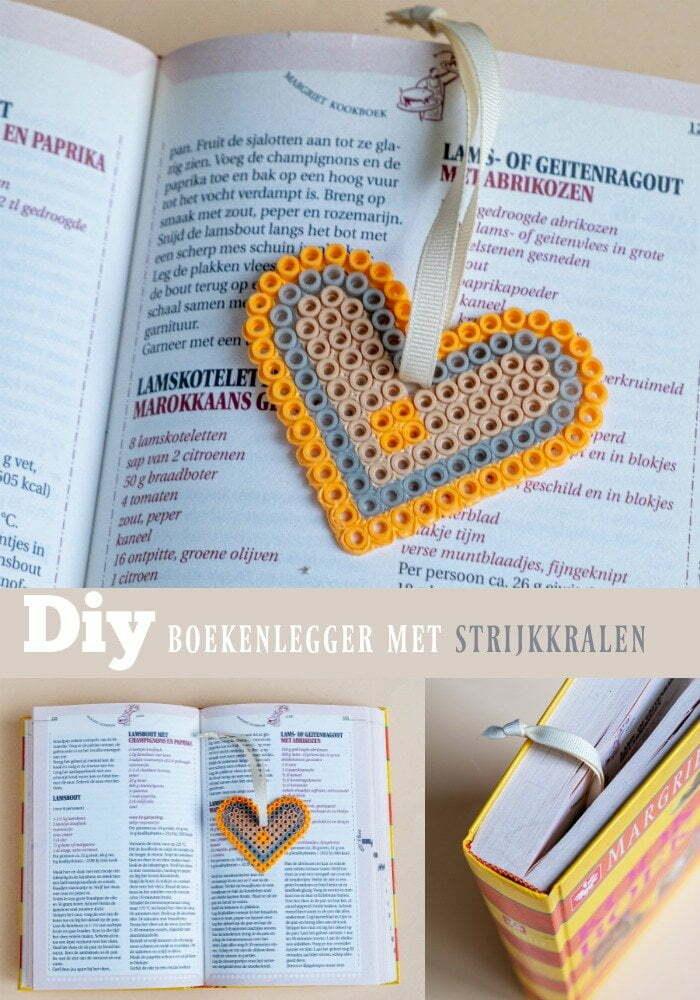 Hoe maak je een boekenlegger met strijkkralen