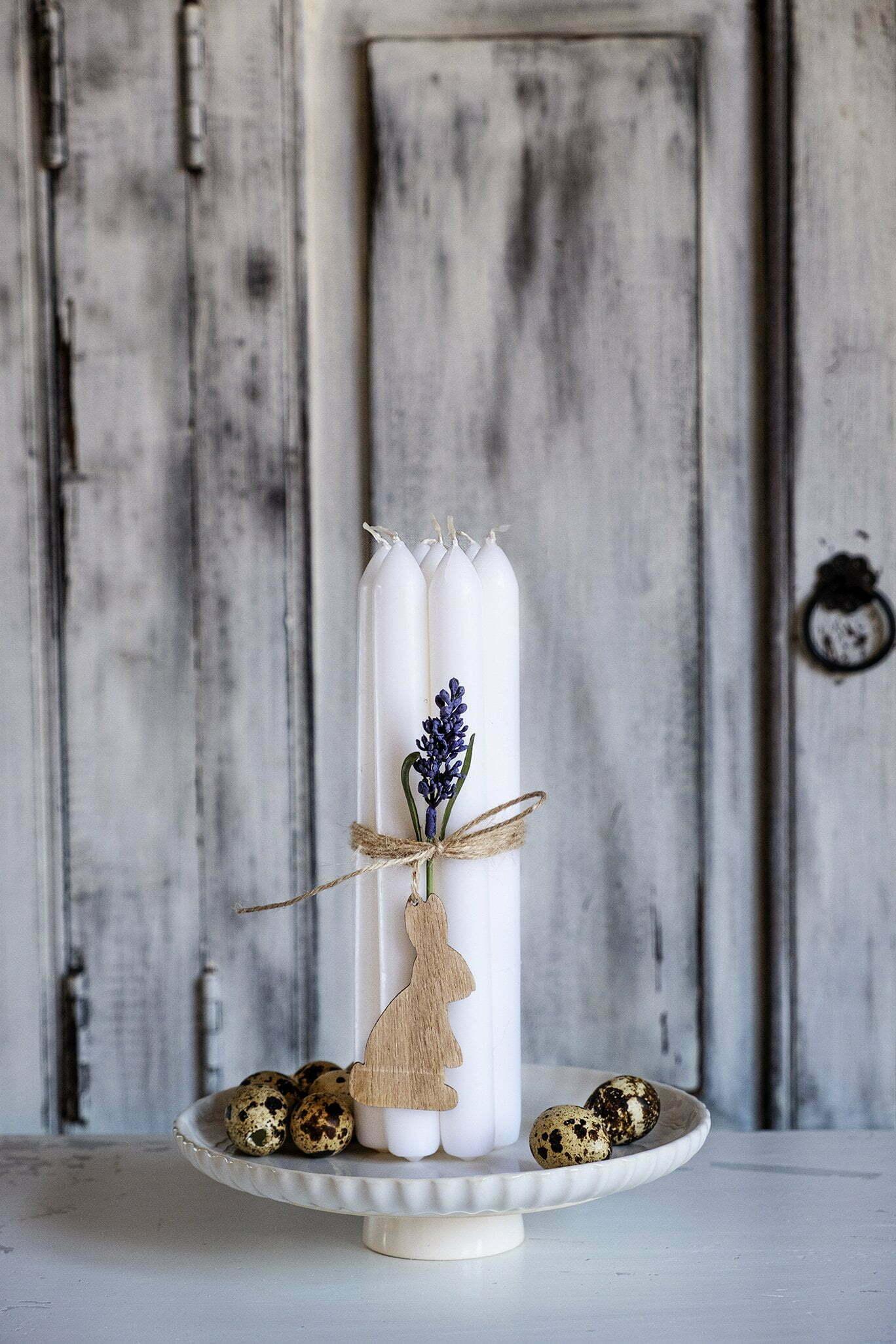 Mooie manier om kaarsen te decoreren - Diy