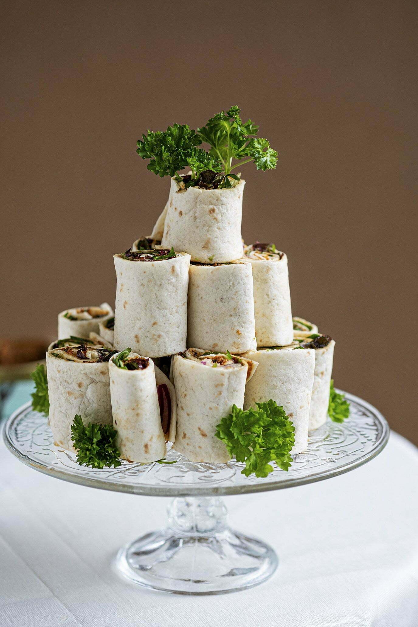 Tortilla wraps met paté sardinha of tuna – Hartige hapjes