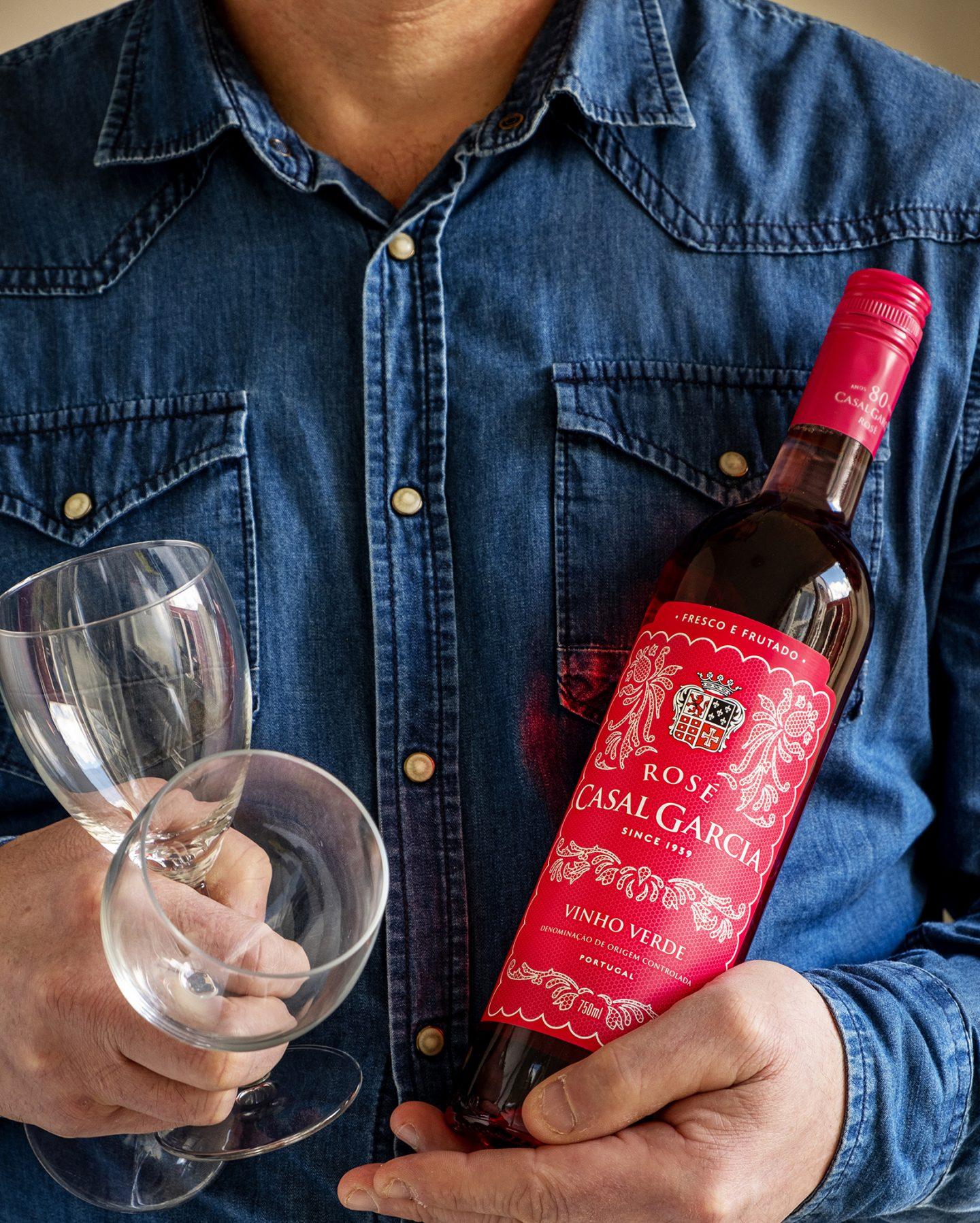 vinho verde rosé Casal Garcia