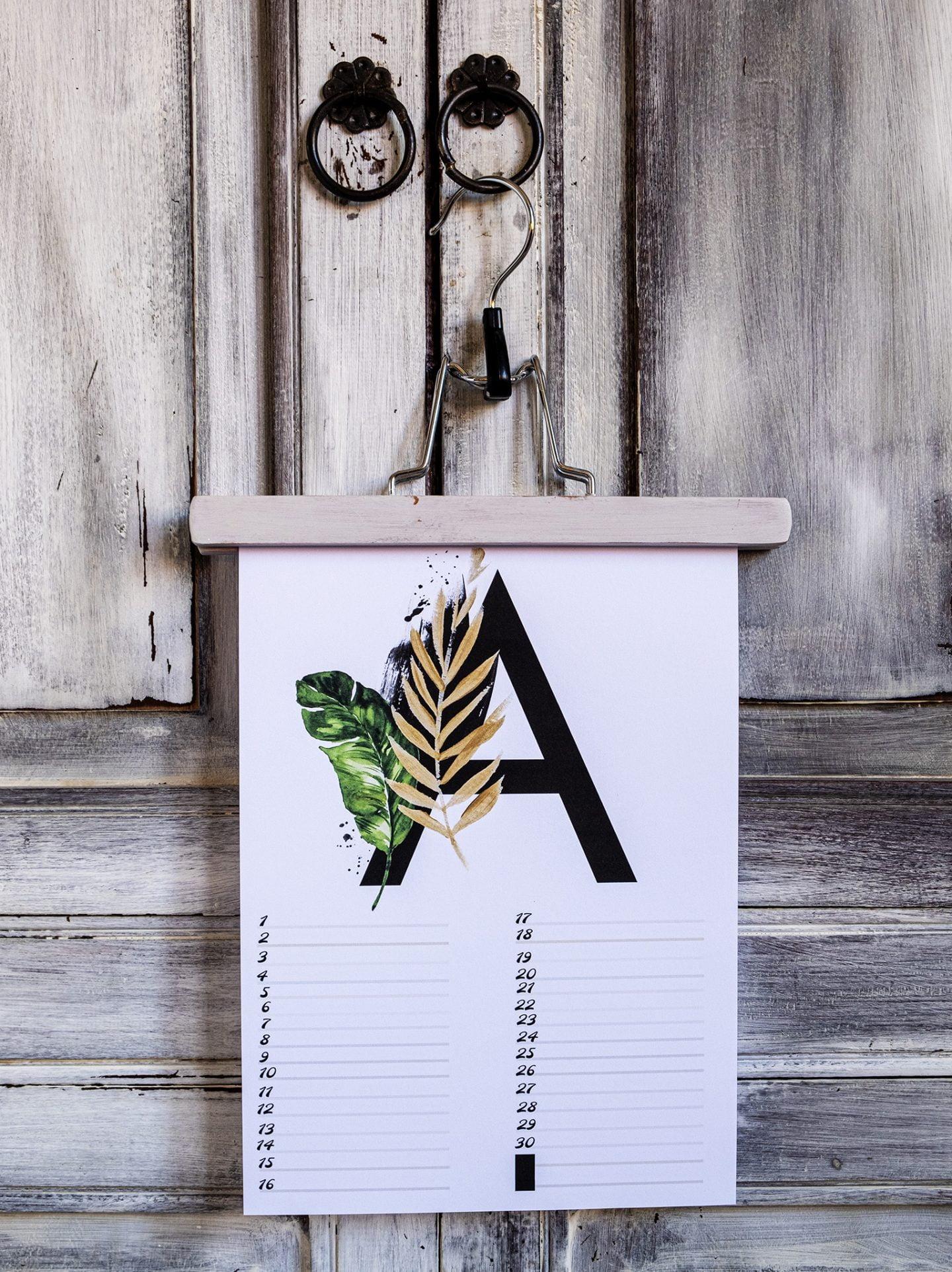 elsarblog Gratis verjaardagskalender alfabet van April – Nr.4
