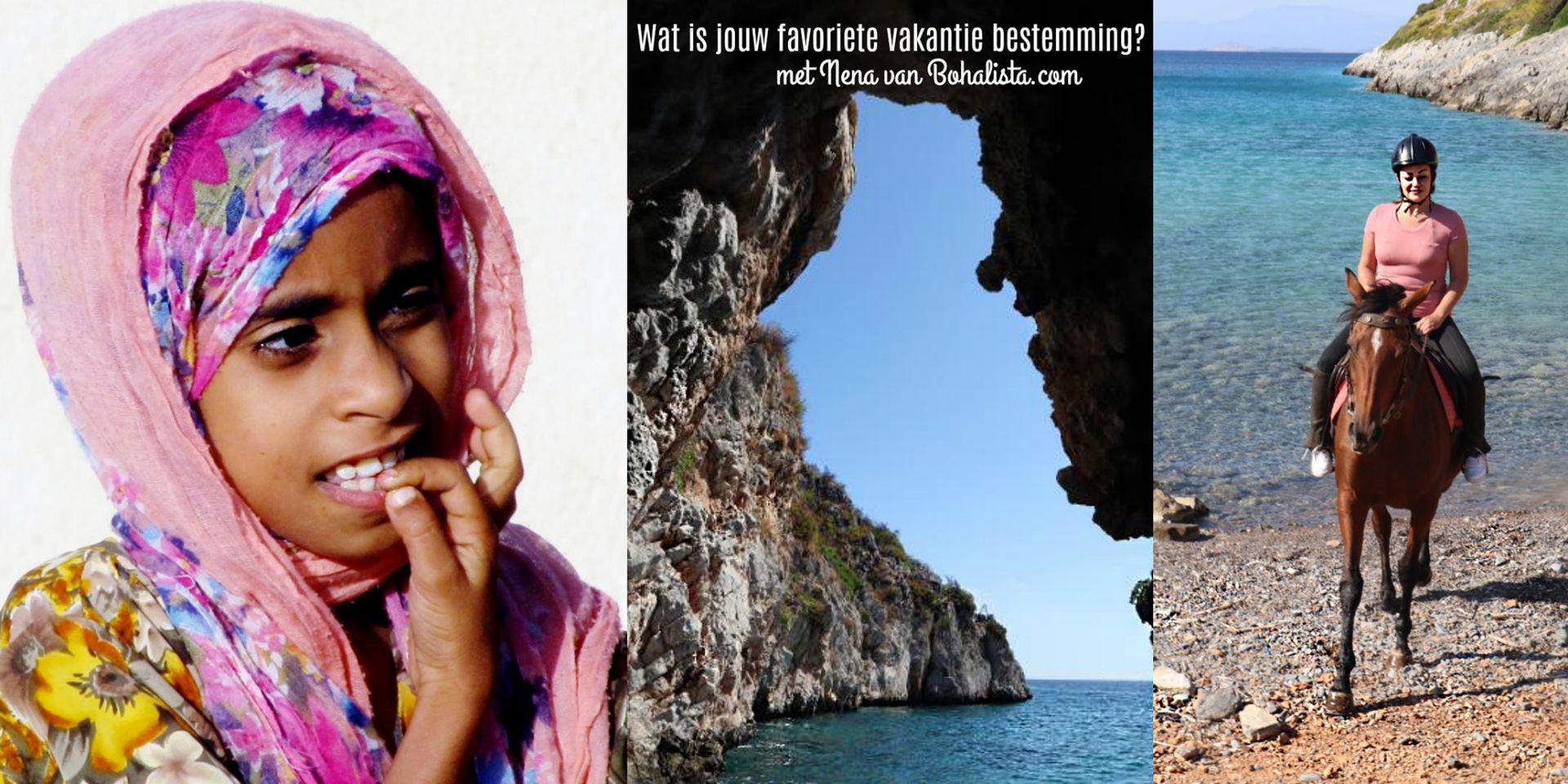 Wat is jouw favoriete vakantie bestemming? met Nena van Bohalista