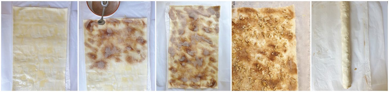 stap voor stap: Cinnamon Rolls met walnoten