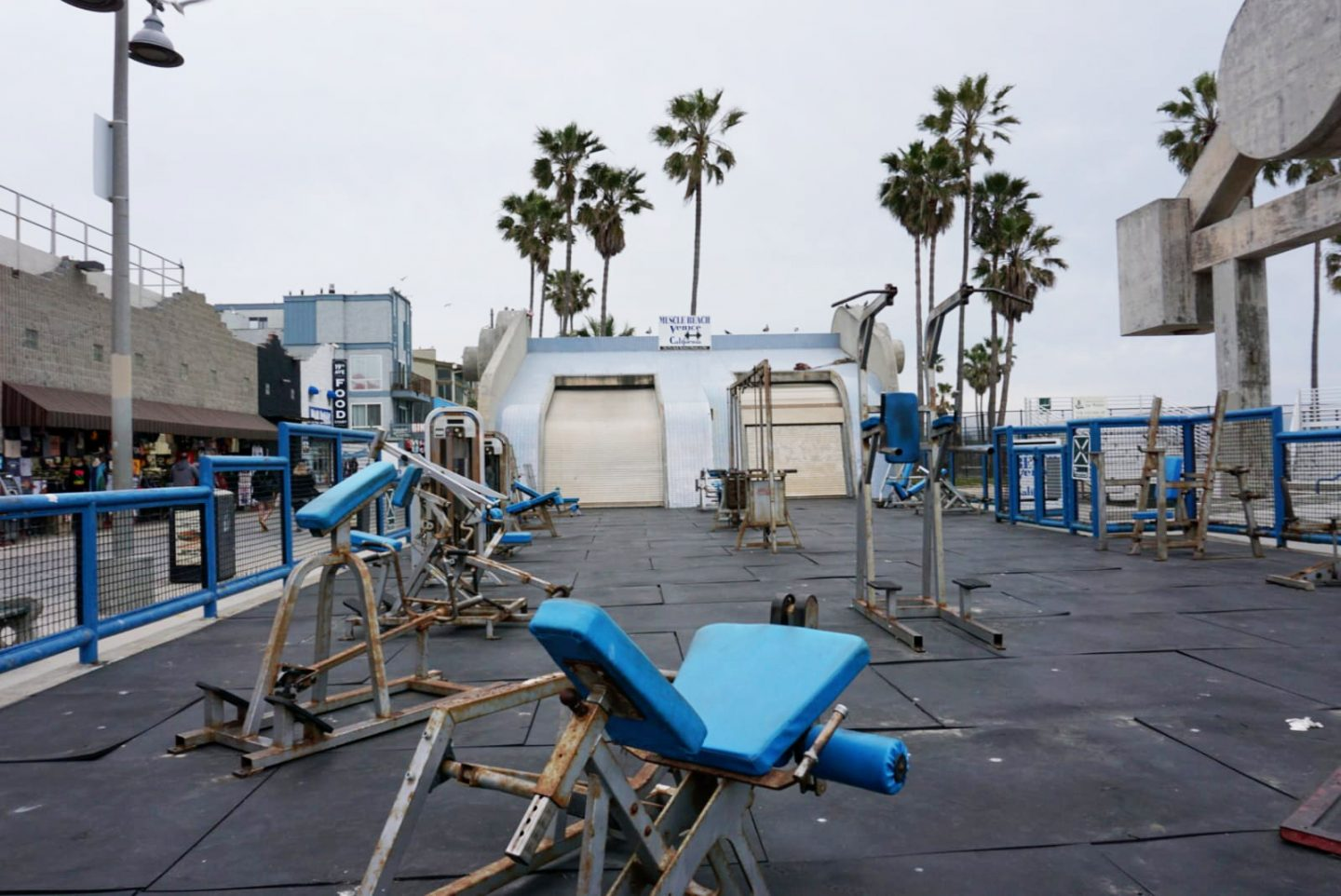 los angeles - muscle beach inpiration nl