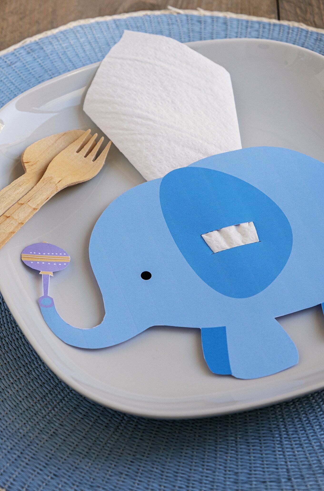 Party olifant servethouder