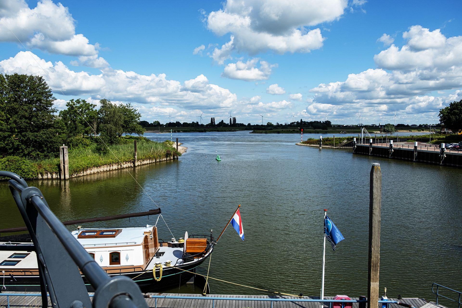 Een dag in Zaltbommel Nederland