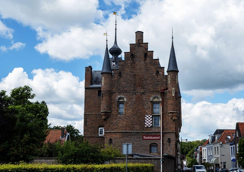 het stadskasteel Zaltbommel dat nu een museum is