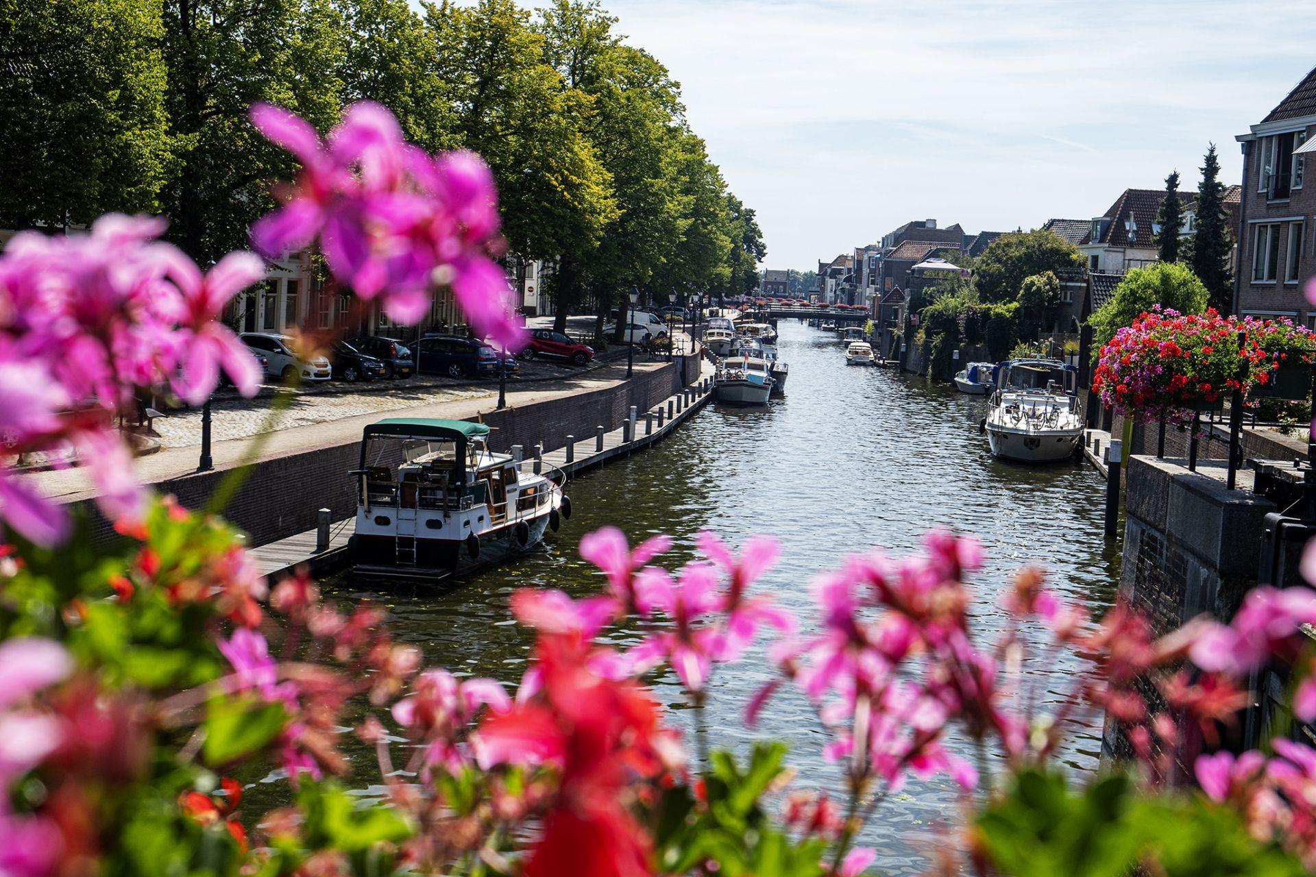 De stad Gorinchem is heel mooi