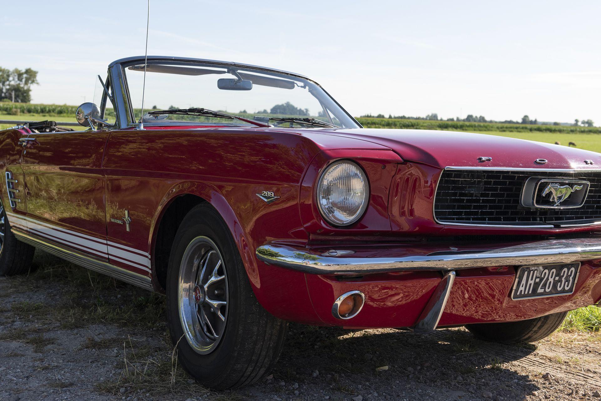 En wat een bekijks hebben we gehad met deze Ford Mustang