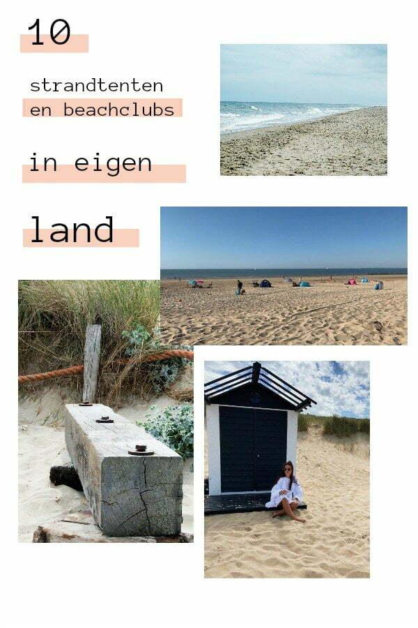 Pin: 10 Strandtenten en beachclubs in eigen land - Nederland