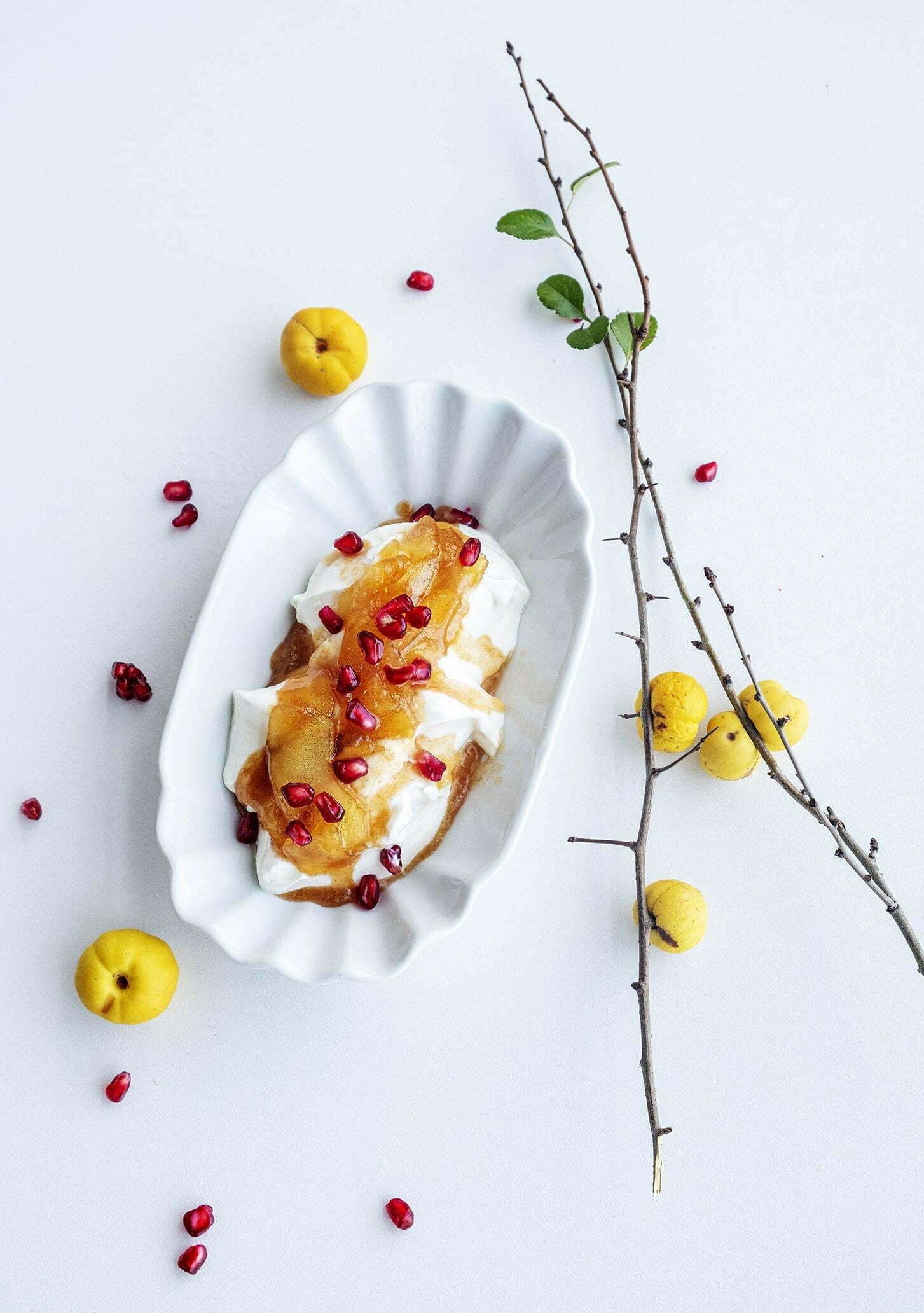 Gekarameliseerde appeltjes van Martine - Foodblogswap