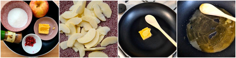Gekarameliseerde appeltjes