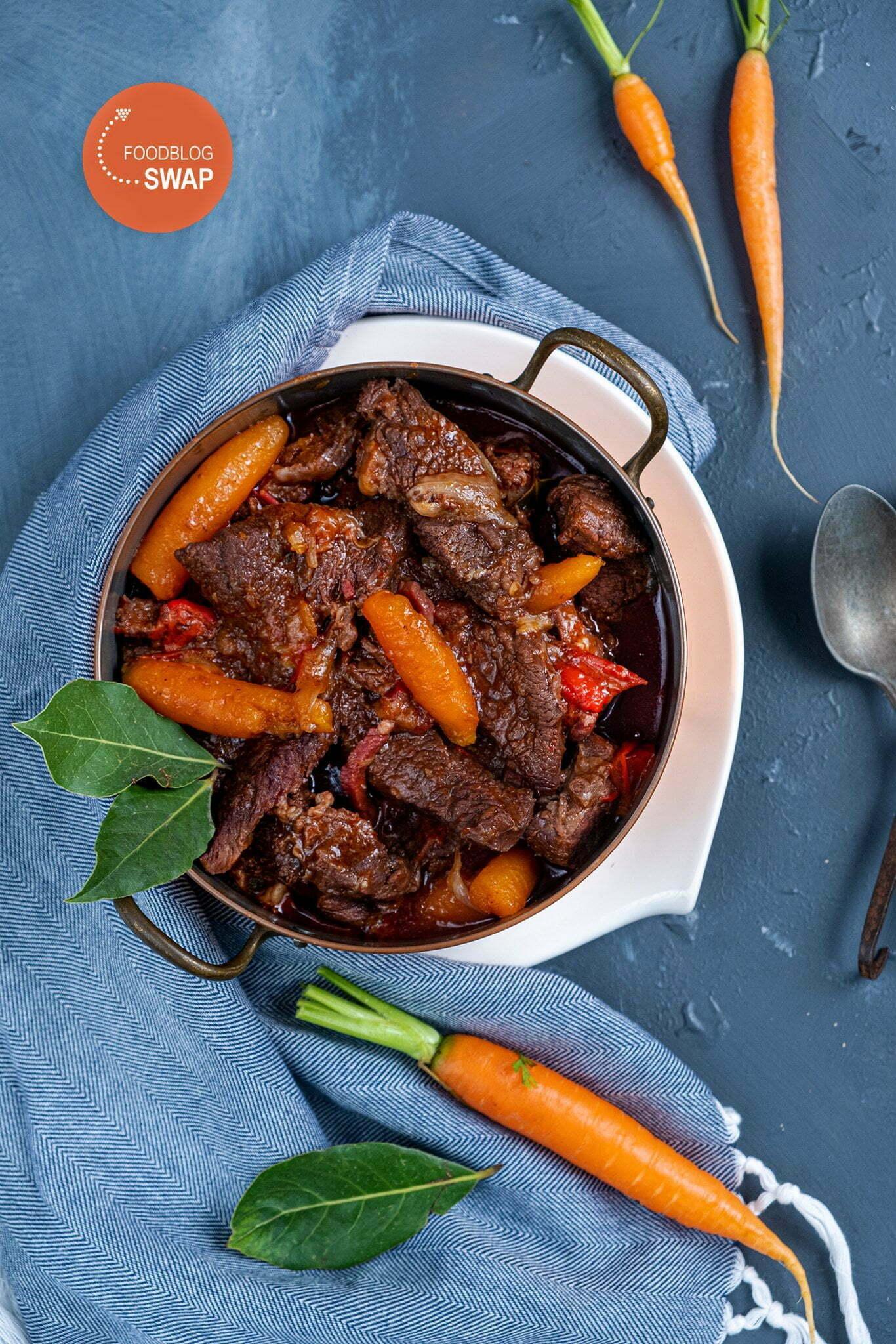 Heerlijke Boeuf Bourguignon recept - Foodblogswap