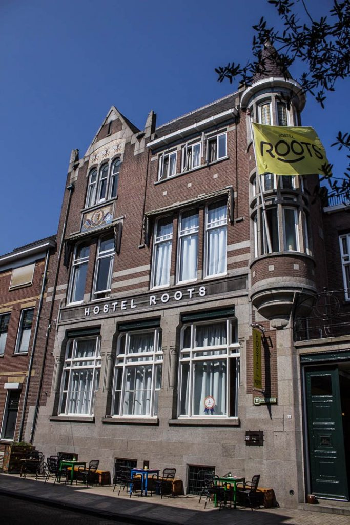 Front Sunny Side Hostel Roots