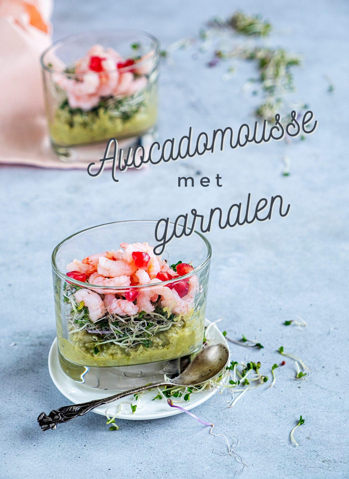 Avocadomousse met garnalen - Voorgerecht