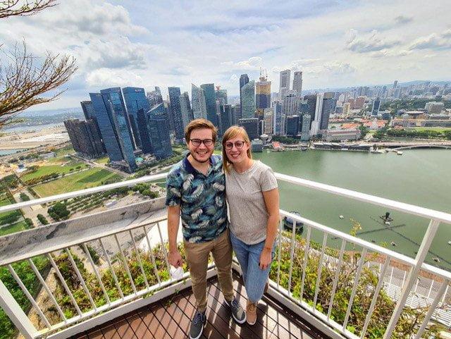Karin & Willem in Singapore