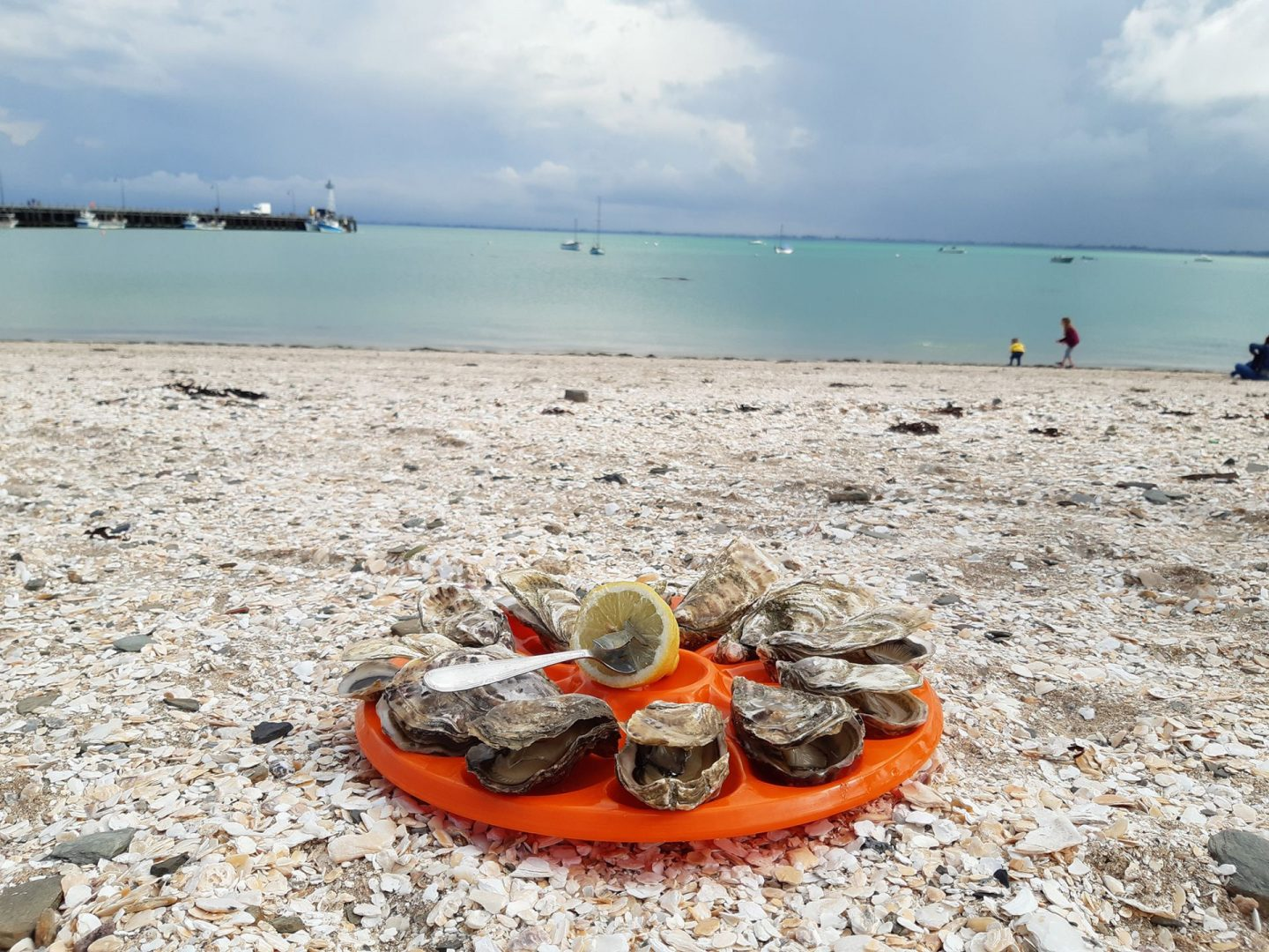 Cancale: verse oesters