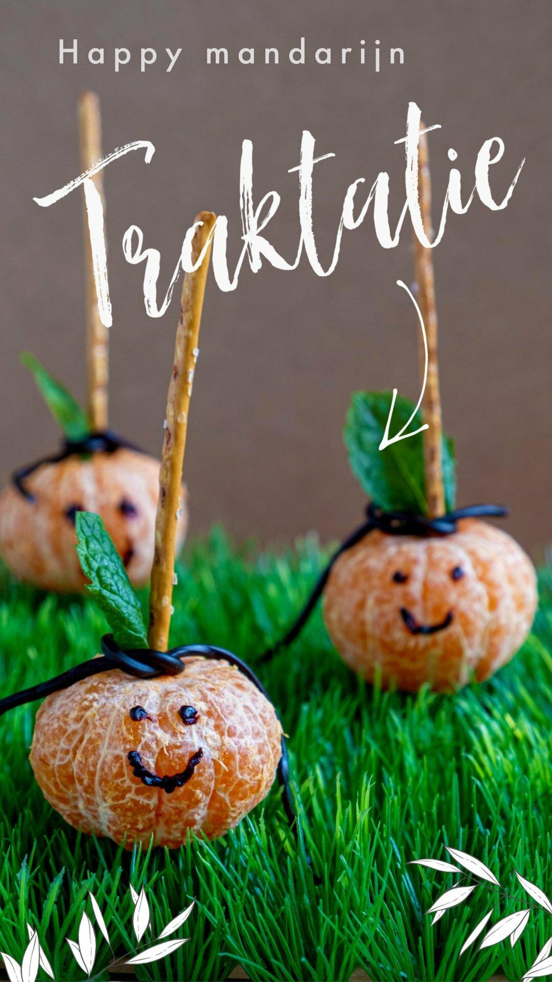 Pin:Happy mandarijn traktatie