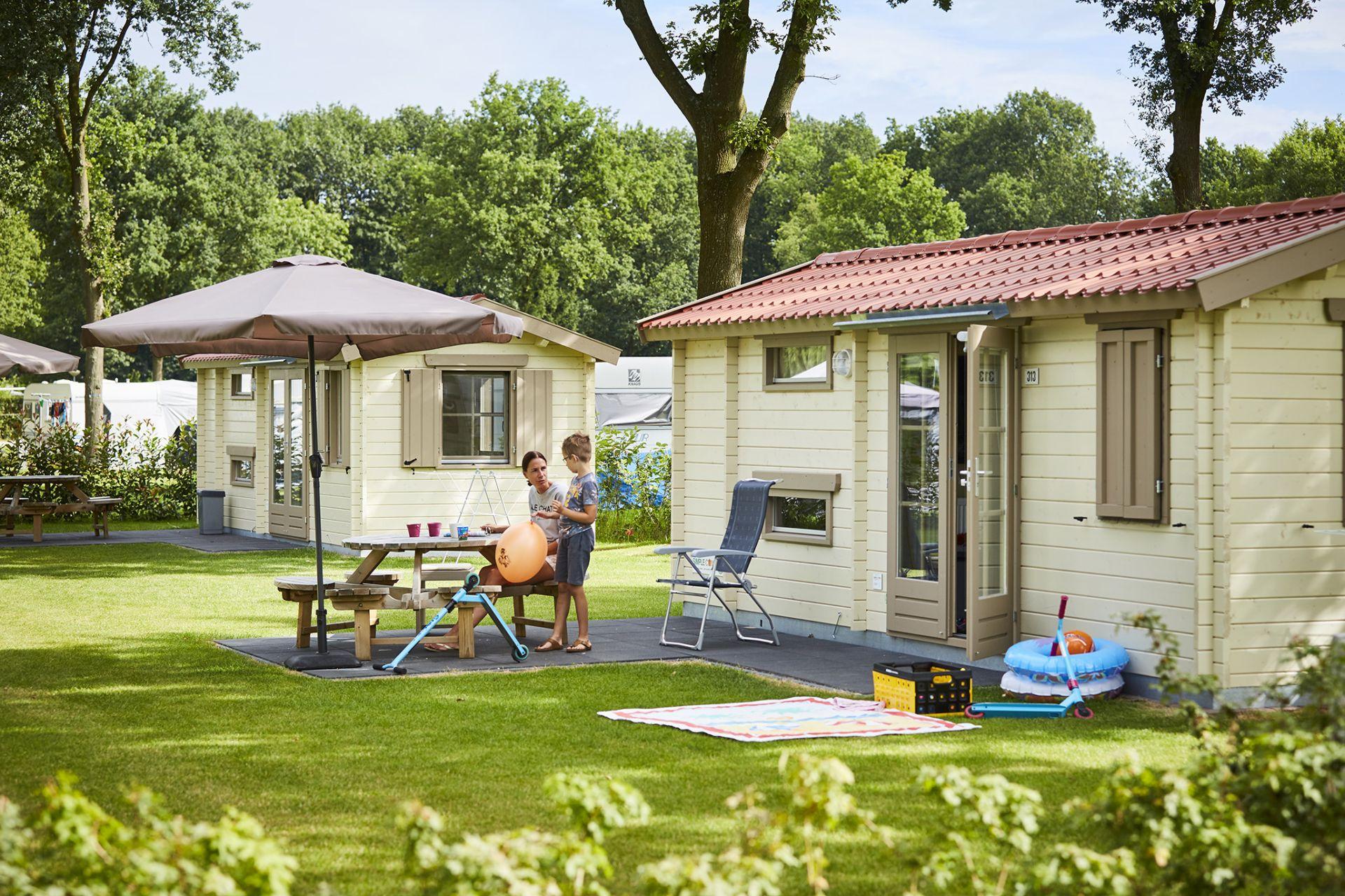 Simple Camping + Douche - De Leistert
