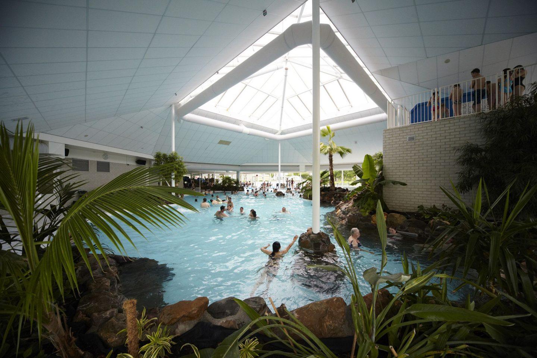 Vakantie op recreatiepark : Subtropisch zwembad