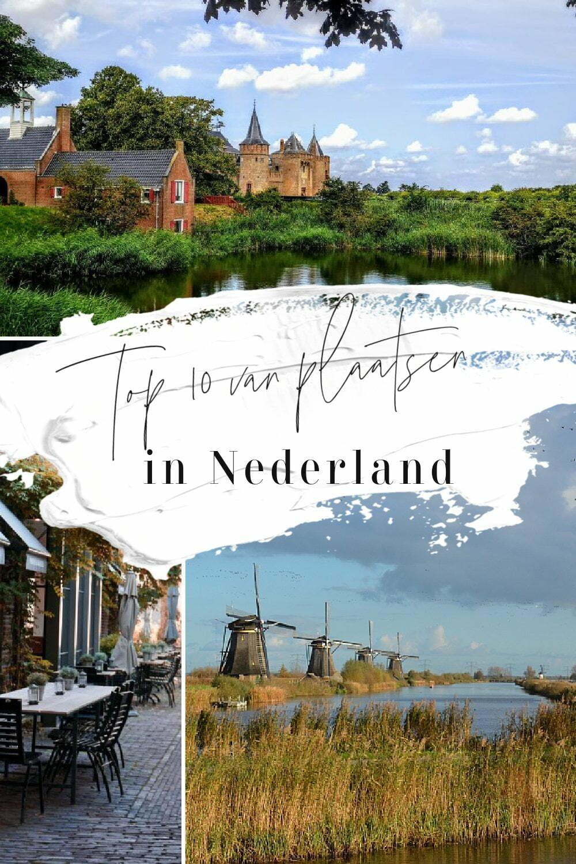 Top 10 plaatsen in Nederland