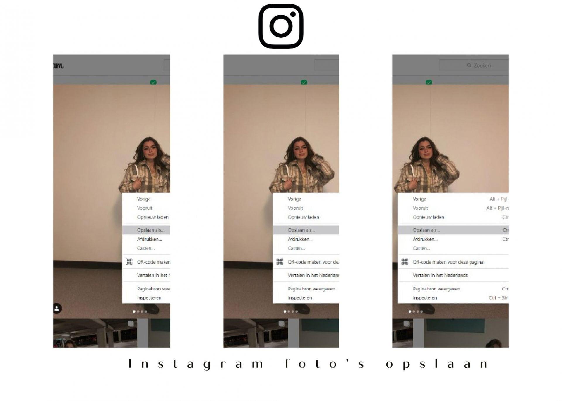 Instagram foto's opslaan - Social Media