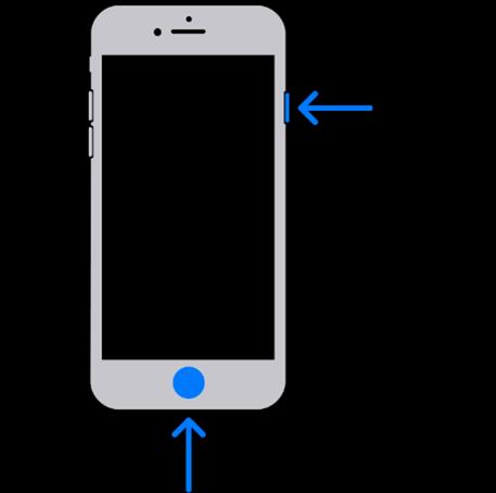 Om een screenshot te maken op een iPhone