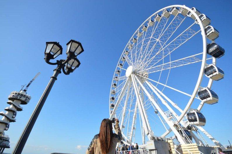 Reuzenrad op De Pier Scheveningen-DenHaag