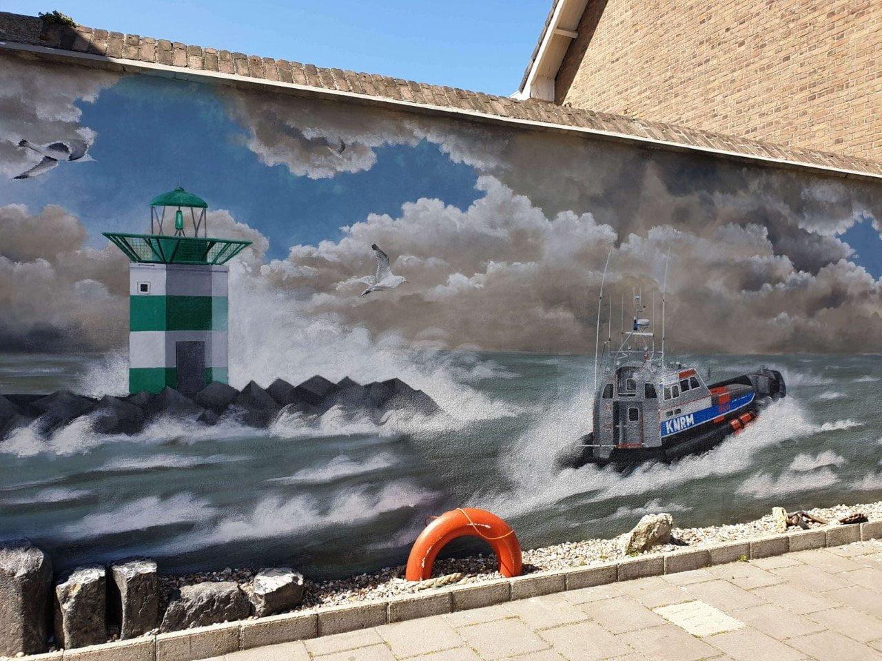 Scheveningen hangt vol met Street Art