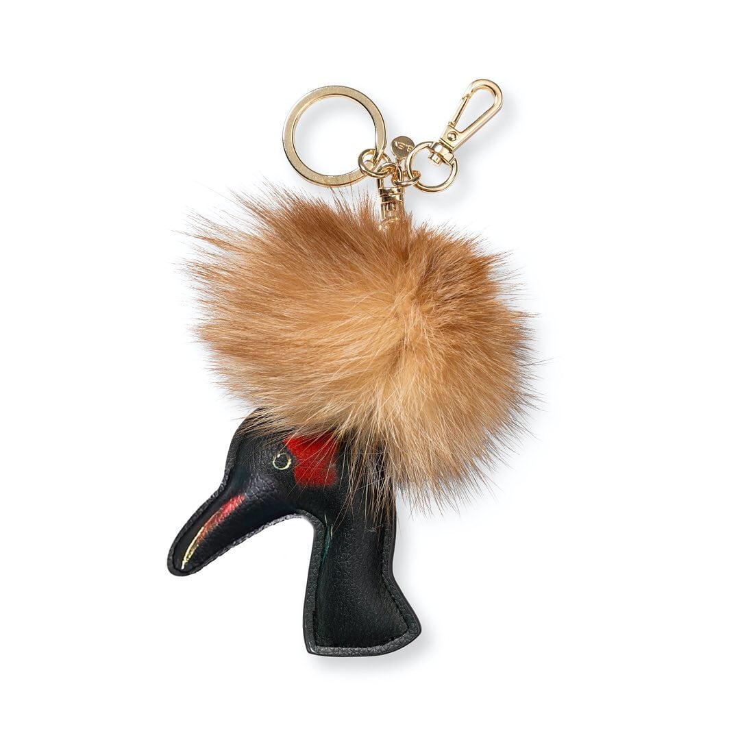 Bienmoves: Sleutelhanger - Kroon van een kraanvogel