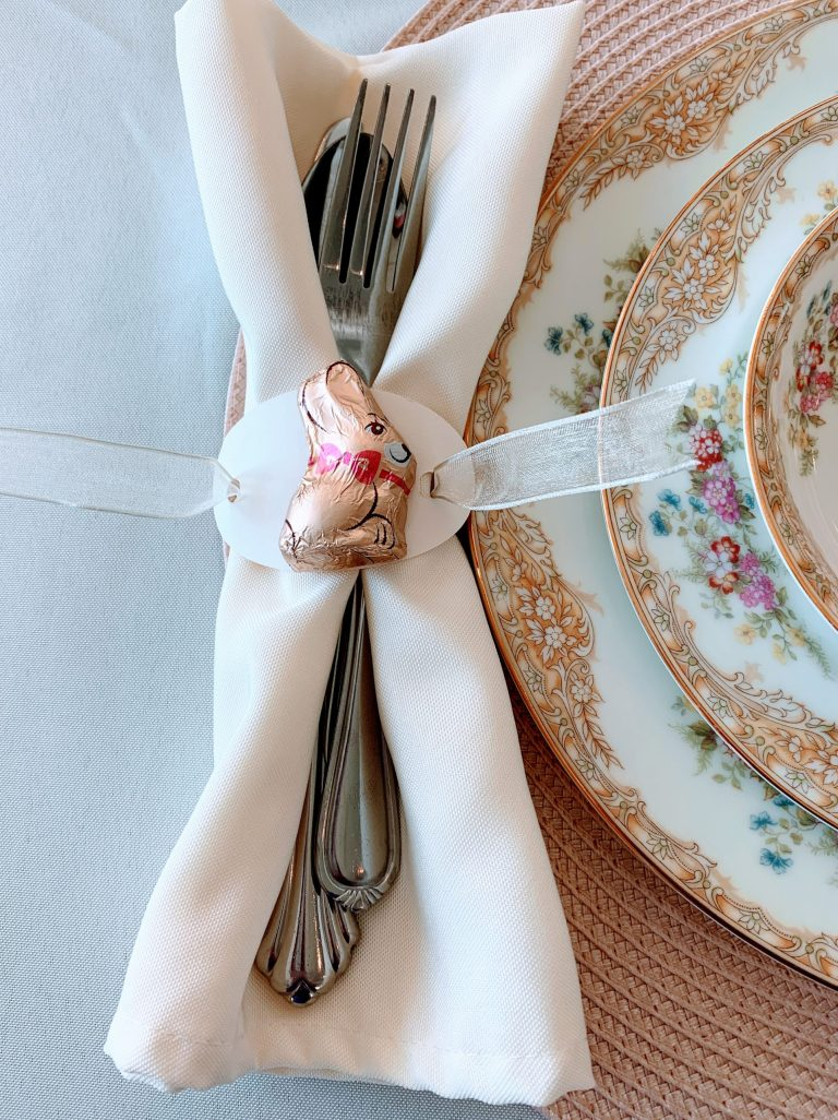 The house on silverado: Easy DIY Easter Napkin Rings