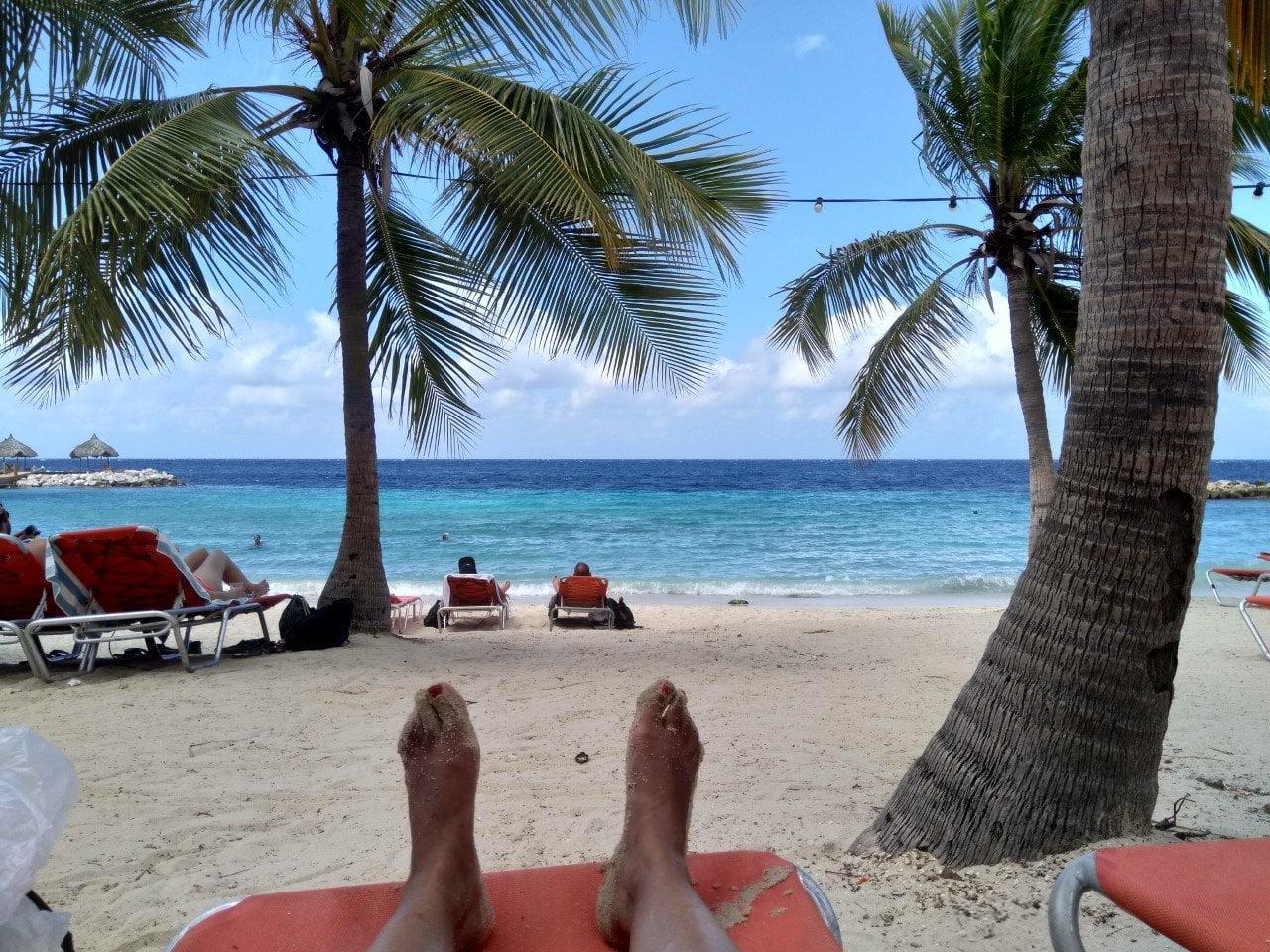 Curaçaoheeft veel prachtige stranden vooral aan de zuidelijke kant van het eiland.