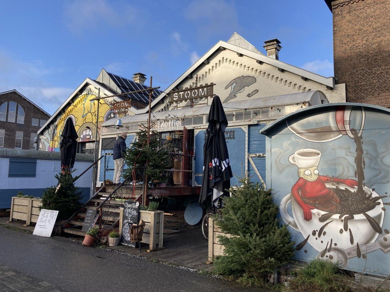 Tilburg: Coffee bar Stoom 013