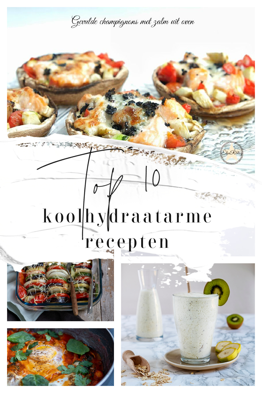Top 10 koolhydraatarme recepten
