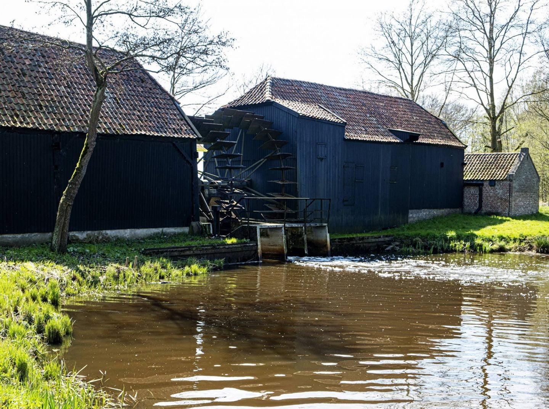 Watermolen te Opwetten, Vincent van Gogh heeft deze molen geschilderd.