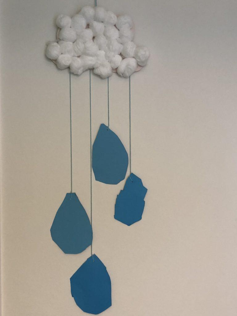 Webkonijn: Regenwolk knutsel