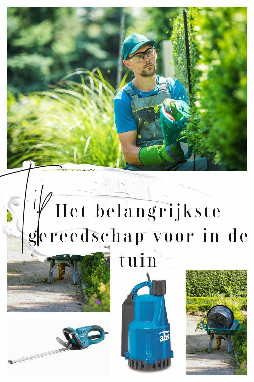 Tip: Het belangrijkste gereedschap voor in de tuin