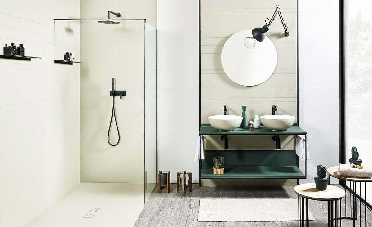 Douche thermostaatkraan is perfect voor je badkamer. Foto saniweb