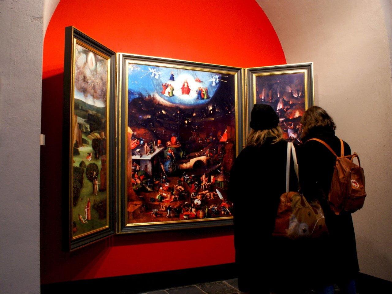 Drieluik bij het Jheronimus Bosch Art Center