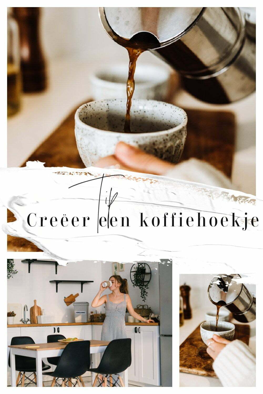 Creëer een koffiehoekje