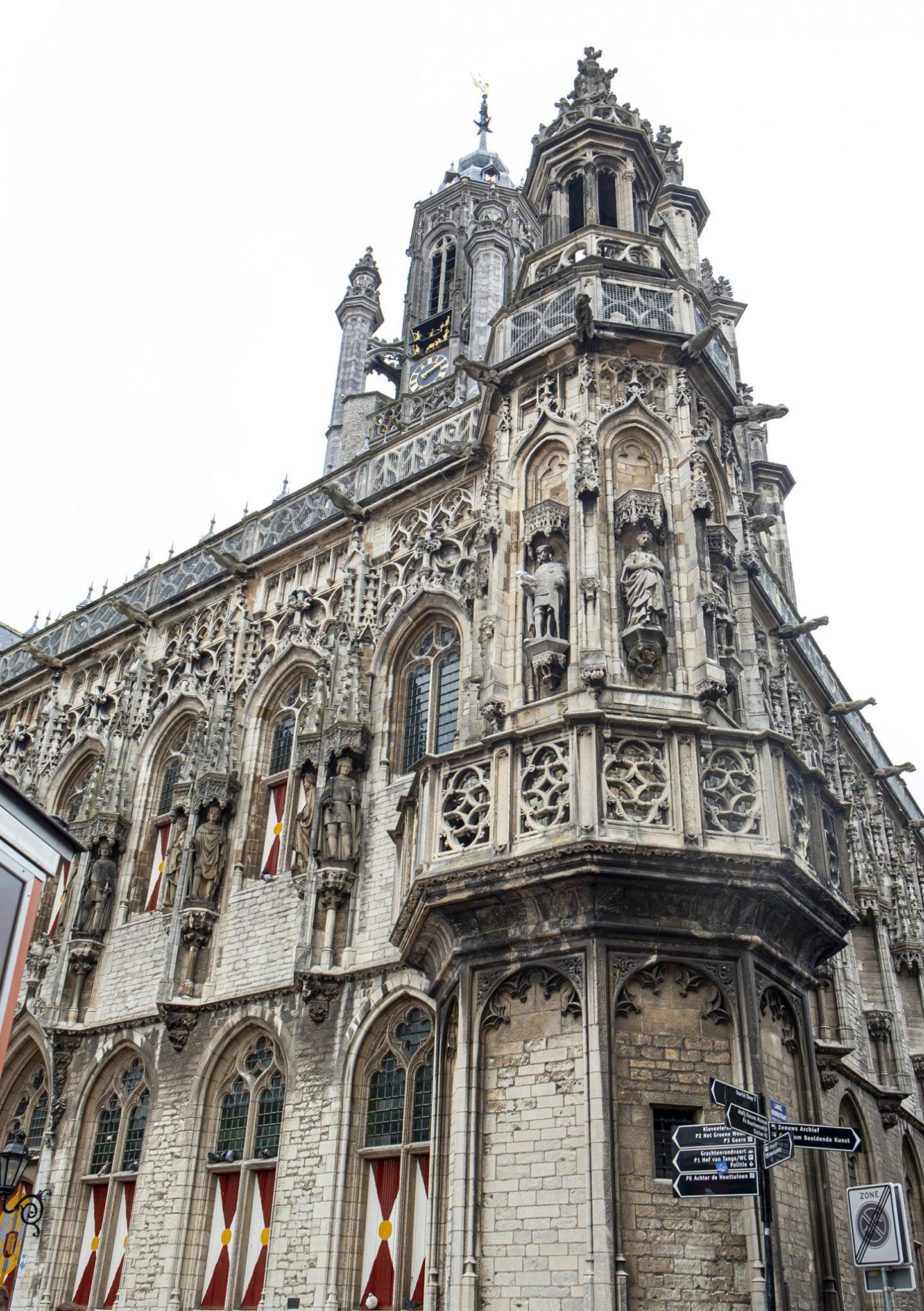 Hierna kwamen we uit in Middelburg, de hoofdstad van de provincie Zeeland.