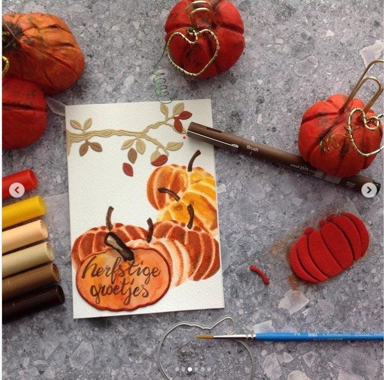 Creaaas: Pompoenen en herfst